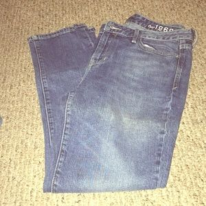 GUC GAP Real Straight Jeans Size 29